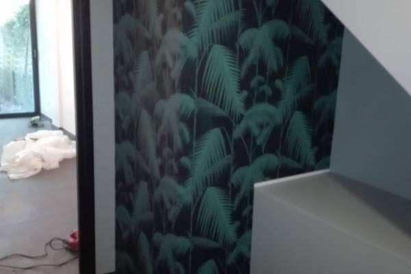 Papier peint Plam Jungle Cole and son par Samira Bouhenna Inspire Déco