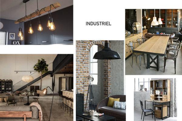 Planche de style Industriel par Samira Bouhenna, Décoratrice UFDI sur Gennevilliers, Saint Denis, et Paris 92 75 93