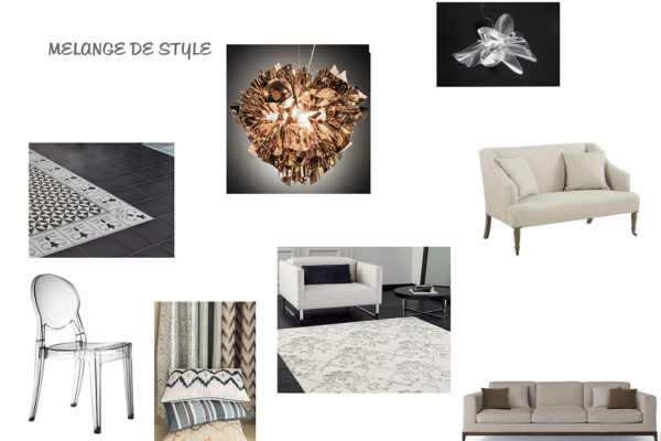 Planche de style Eclectique par Samira Bouhenna, Décoratrice UFDI sur Gennevilliers, Saint Denis, et Paris 92 75 93