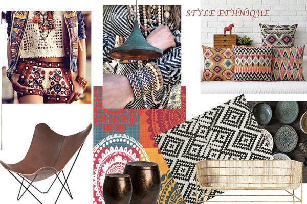 Planche de style Ethnique par Samira Bouhenna, Décoratrice UFDI sur Gennevilliers, Saint Denis, et Paris 92 75 93