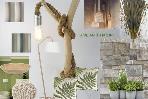 Planche de style Nature par Samira Bouhenna, Décoratrice UFDI sur Gennevilliers, Saint Denis, et Paris 92 75 93