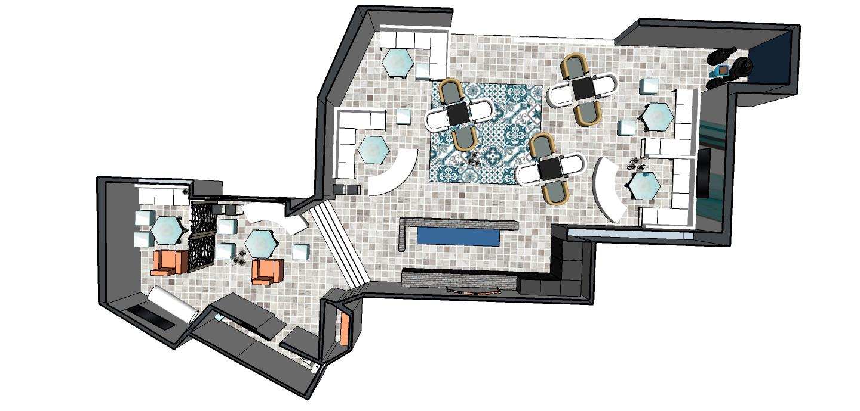 Idées fantastiques d` aménagement de salon inspirées par les designs des bars et des ... beau-aménagement-de-salon-café-thé .... Décoration et design du salon moderne