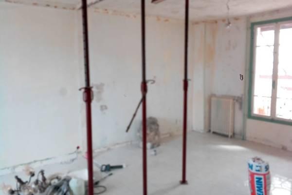 Pose faux plafond et spot